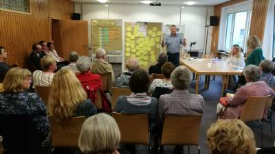 Café HEy 60+ in der PBH -