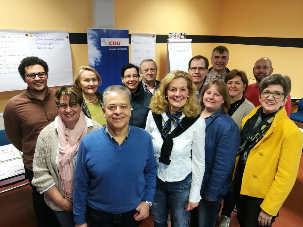 Gruppenbild des CDU-Kreisvorstandes auf der Tagung in Goslar.