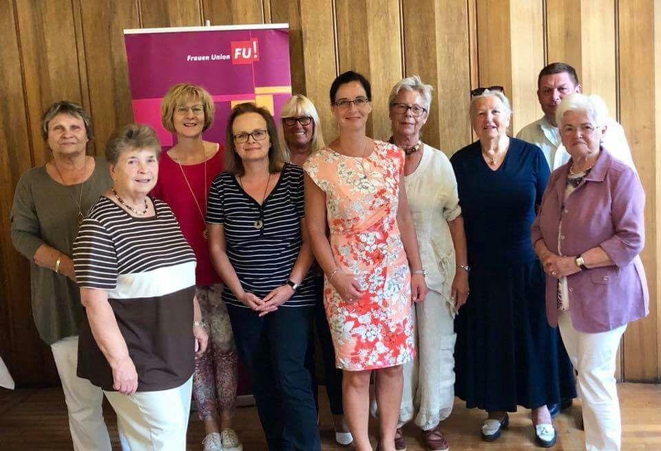 Der neue Vorstand der Frauen Union Stadtverband Helmstedt.
