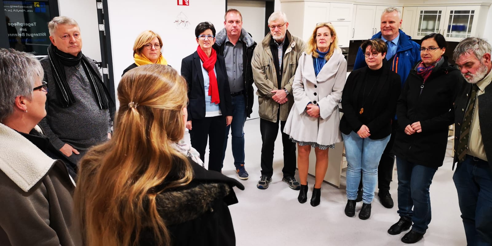 Veronika Koch MdL und die CDU Kreistagsabgeordneten zu Besuch in den neuen Räumlichkeiten der Diakonie-Tagespflege in Beienrode.