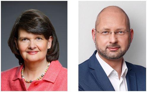 v.l.n.r.: Parlamentarische Staatssekretärin Frau Dr. Maria Flachsbarth, Bundestagskandidat Andreas Weber